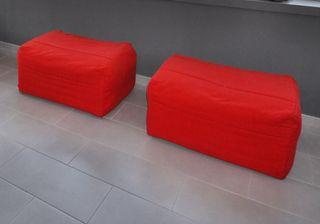 2 Puff cama de 80 x 180