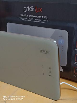 gridinlux. Homely WiFi Warm 1500W. Radiador