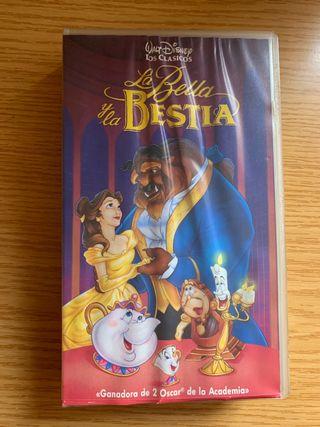 La Bella y la Bestia en VHS