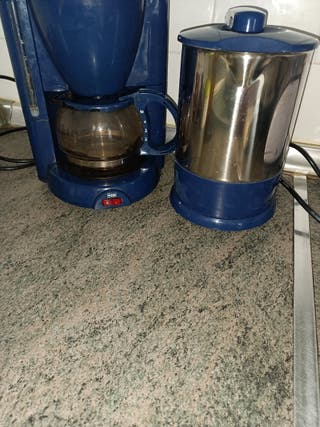 cafetera y calentador de agua