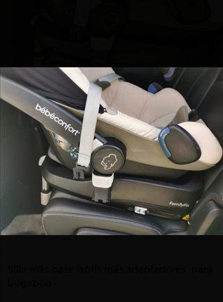 Maxicosi silla bebé grupo 0 y Isofix