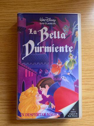 La Bella Durmiente en VHS