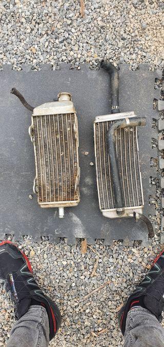 carburador y Radiadores Gas Gas