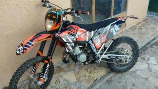 KTM EXC 125cc 2T 2008