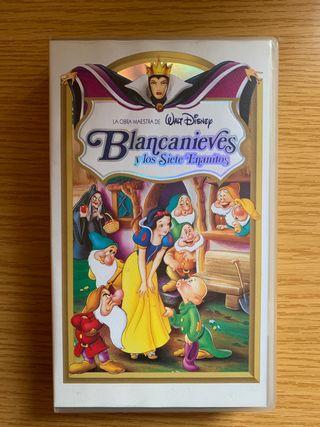 Blancanieves y los siete enanitos en VHS