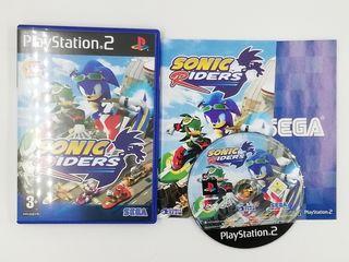 SONIC RIDERS PS2