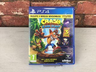 Juego PS4 Crash Bandicoot N Sane Trilogy