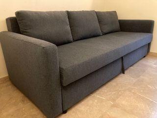 Sofá cama IKEA, 3 plazas.