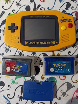 Nintendo game Boy advance pokemon + juegos