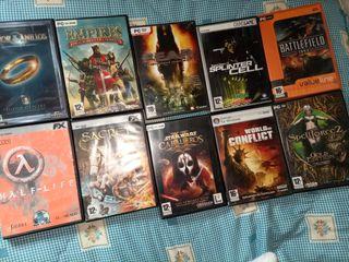 lote juegos clásicos pc