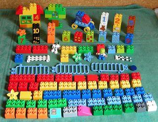 LEGO DUPLO 5497 MAS LOTE DE PIEZAS DIVERSAS