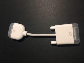 Cable Adaptador Apple DVI-I a VGA