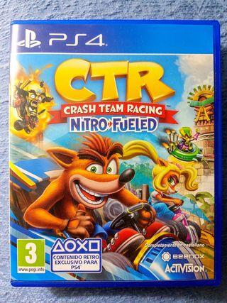 Crash Bandicoot Racing Nitro Fueled PS4