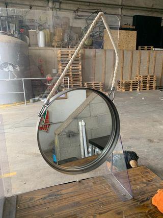 Espejo industrial maison du monde 40 diámetro
