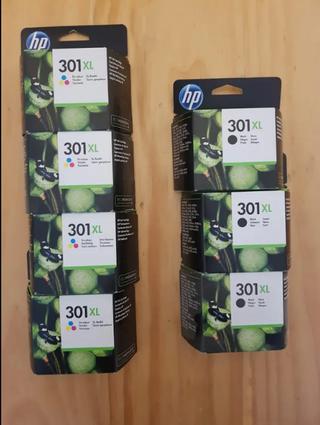 Cartuchos de impresora HP301 XL