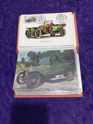 postales de coches antiguos