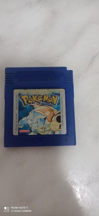 Pokemon edición azul Game boy color