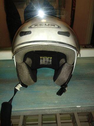 casco de moto talle S