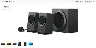 Altavoces Bluetooth 2.1 Logitech Z337
