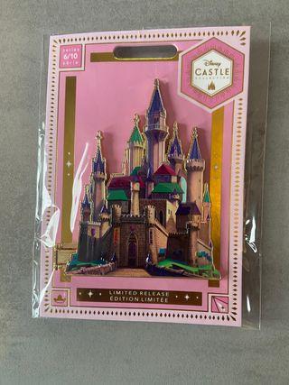 Pin Bella durmiente castillo Disney