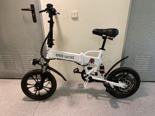 Bicicleta eléctrica plegable Miami scooter