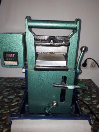 prensa rosin manual