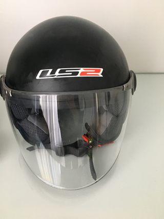 Casco LS2 moto talla S