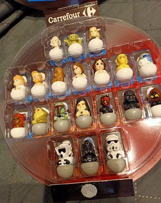 Juego coleccionistas La Guerra de las Galaxias.