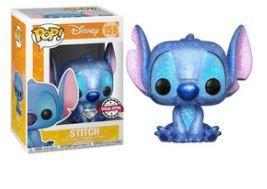 Figura Disney Stitch Seated Diamond Glitter 159