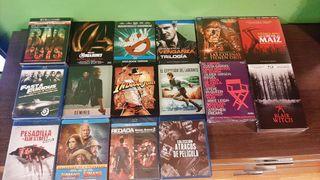 Lote 115 películas bluray