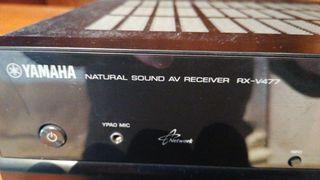 Amplificador HiFi home cinema, marca Yamaha