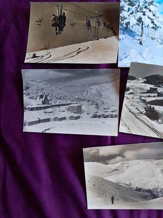 5 Postales Pirineos. Antiguas