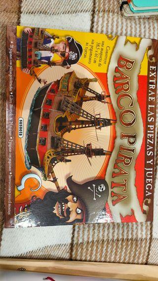 maqueta barco pirata.