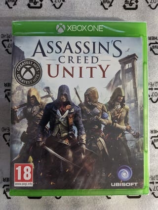 **NUEVO** Assassins Creed Unity para Xbox One