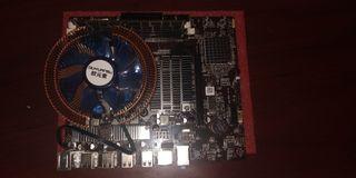 Placa base Intel con accesorios