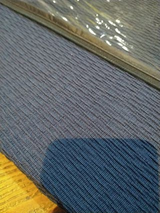 funda sofá de una plaza azul marino