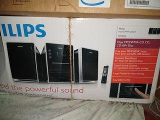 Vendo equipo de audio micro Hi-Fi Philips