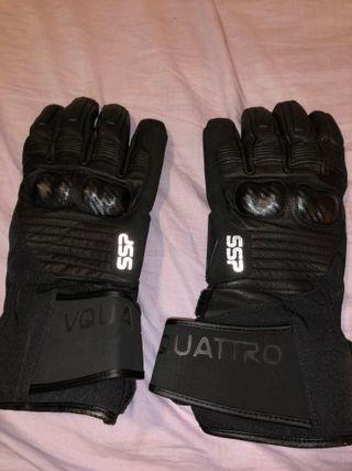 Guantes moto invierno XXL Vquattro SSP