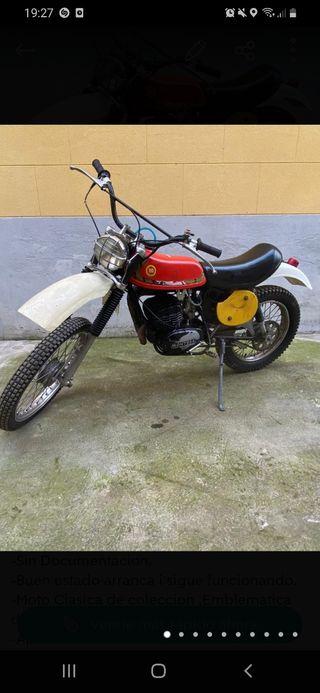 MONTESA ENDURO 125cc(L) 1977-80.
