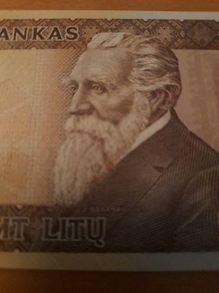 billete de Lituania