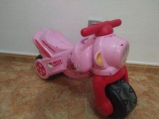 Moto hello kity .