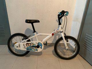 Bicicleta 16 pulgadas niño