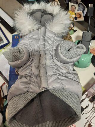 abrigo para perrito o perrita pequeño 23 cm