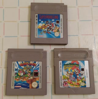 Super Mario Land , Wario land game boy vintage