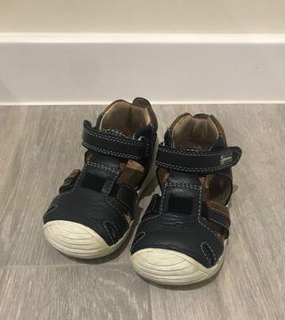 Sandalias biomecanics piel bebe talla 20