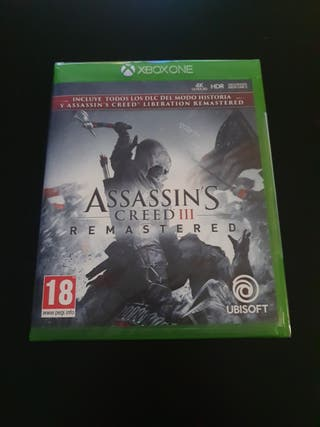 ASSASSIN'S CREED III REMASTERED ( NUEVO ) XBOX ONE