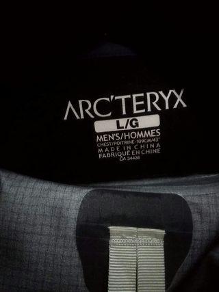 arcteryx chaqueta gore tex PRO