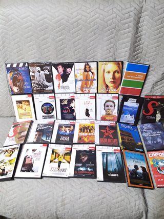 27 peliculas DVD