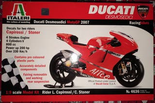 Maqueta de moto Italeri 1:9 ref# 4636