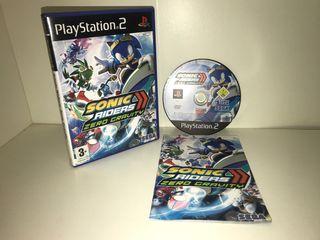Sonic Riders: Zero Gravity - PS2